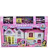 Кукольный домик с мебелью свет и звук