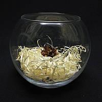 Круглая ваза 1,4 л,  h 120 мм, Ø 150 мм, фото 1