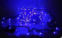 Гирлянда светодиодная синяя LED 100 B-3