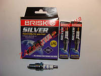Свечи зажигания BRISK Sliver LR15YS Ланос Сенс