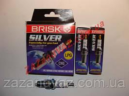 Свічки запалювання BRISK Sliver LR15YS ВАЗ 2108-21099 2110 8кл.