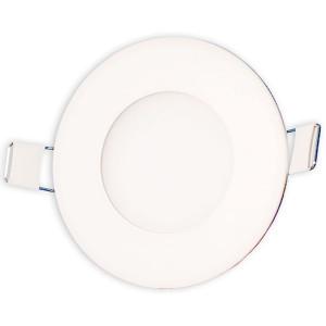 Светильник точечный светодиодный 3Вт врезной Biom круглый нейтральный белый свет