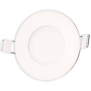 Светильник точечный светодиодный 3Вт врезной Biom круглый нейтральный белый свет, фото 2