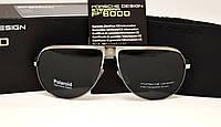 Мужские солнцезащитные очки Porsche Design 8486  серебро, фото 1