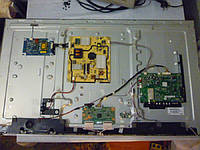 Платы от LED TV 3D TCL 46V7300 поблочно, в комплекте (нерабочая подсветка, царапины).