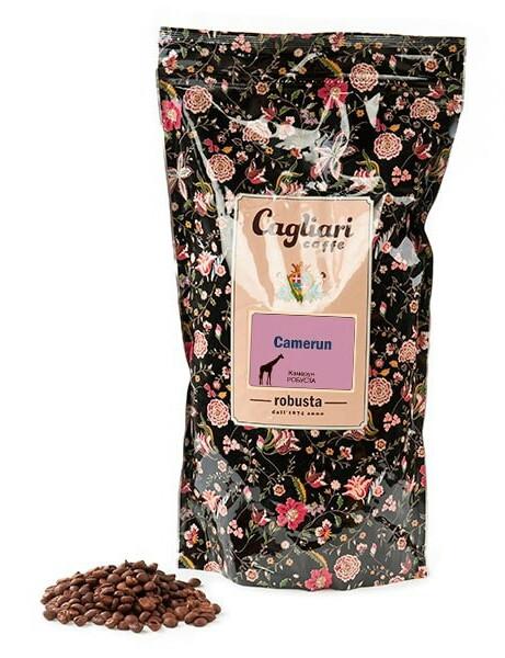 Кофе в зернах Cagliari Робуста Камерун