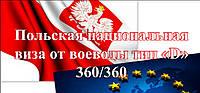 Национальная рабочая виза 360/360