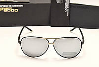 Мужские солнцезащитные очки Porsche Design 8887 черная оправа