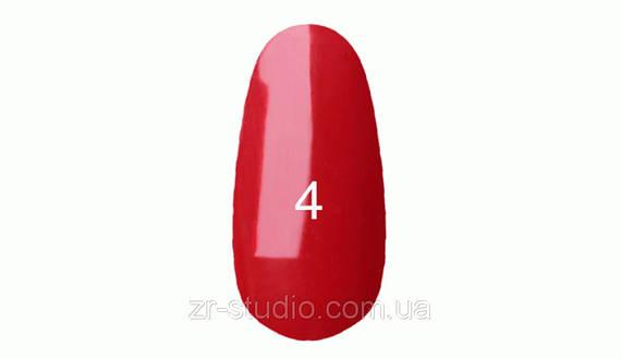 Гель лак Kodi professional 7мл. №4 (Ярко красный)