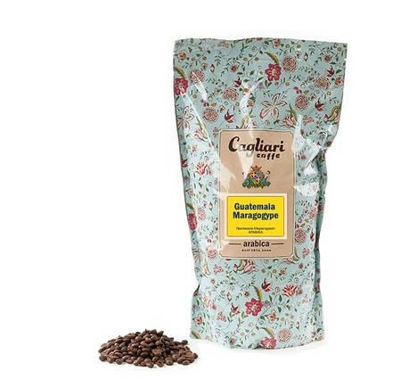 Кофе в зернах Cagliari Арабика Гватемала Марагоджип