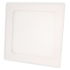 Светильник точечный светодиодный 12Вт врезной Biom квадратный нейтральный белый сввет