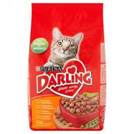 DARLING Cat Poultry&Vegetable Сухой корм для кошек с курицей и овощами, 10 кг