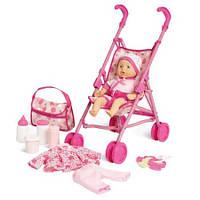 """Игровой набор для девочек """"Куколка с коляской"""", Kid Connection"""