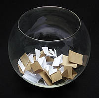 Круглая ваза, аквариум 7 л