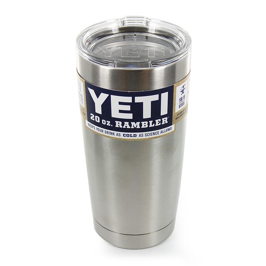 ТермочашкаYETI Rambler Tumbler 20 OZ Сталь