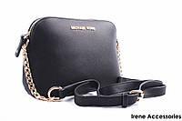 Стильная женская сумка Michael Kors цвет черный