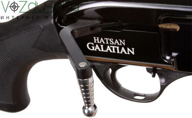 взвод и перезарядка пневматической винтовки hatsan galatian 3 carbine