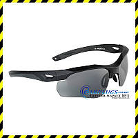 Очки Swiss Eye Raptor. Цвет –черный, 3 линзы (10161)
