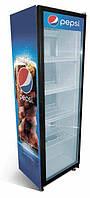 Холодильный шкаф без лайт бокса S Line 350 л (дверь стеклянная)