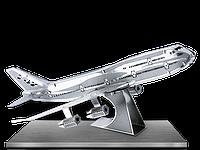 Конструктор металлический 3D Широкофюзеляжный самолет MMS004