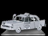 Конструктор металлический 3D Такси Checker Сab MMS007