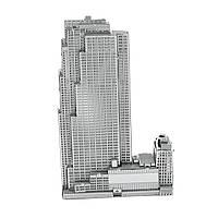 Конструктор металлический 3D Небоскреб Rockefeller Plaza MMS061