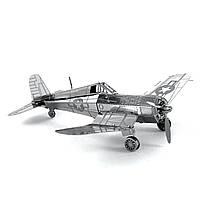 Конструктор металлический 3D Самолет F4U Corsair MMS035
