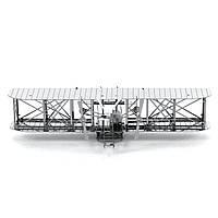 Конструктор металлический 3D Самолет братьев Райт MMS042
