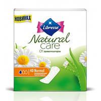 Прокладки ежедневные Libresse Natural Care Pantyliners Normal 40 шт.
