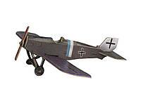 Картонная модель Истребитель Юнкерс (серый) 337-1 Умная Бумага
