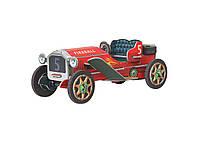 Картонная модель Машинка (красная) 399-1 Умная Бумага