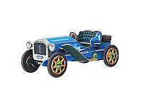 Картонная модель Машинка (синяя) 399-2 Умная Бумага
