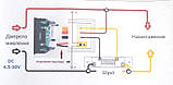 Цифровой вольтметр амперметр DC 100V 50А без шунта, фото 6