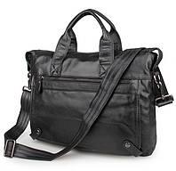 Натуральная кожаная сумка для документов