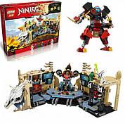 "Конструктор Ninja Lepin 06039 (аналог Lego Ninjago 70596) ""Хаос в X-пещере Самураев"""