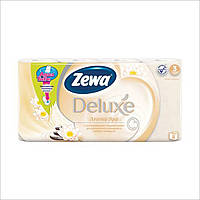 Туалетная бумага Zewa Deluxe Aroma Spa Шампань 8 рулона 21м/150 листов 3 слоя