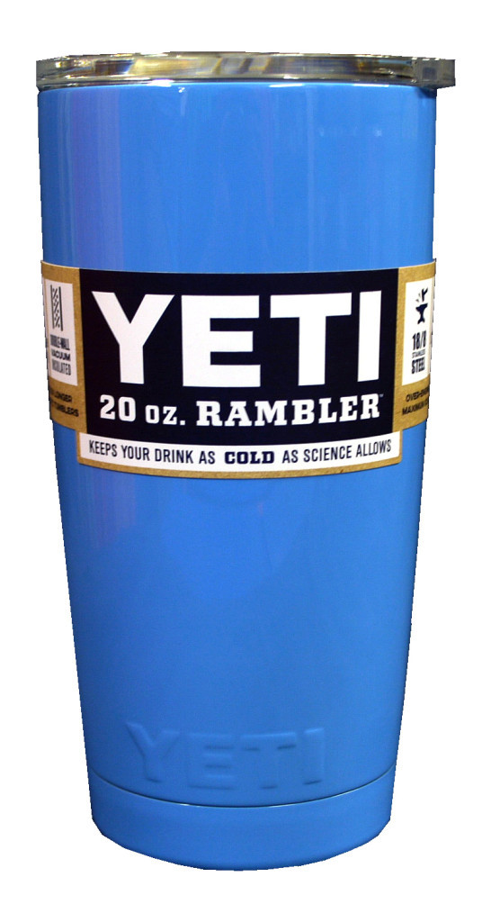 ТермочашкаYETI Rambler Tumbler 20 OZ Синий