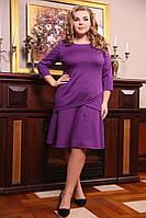 Женское Платье  Витраж  (2 цвета ) (48-72)