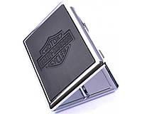 Портсигар на 10 сигарет HARLEY-DAVIDSON №8701В. Подарок для мужчины, мужа. Футляр для сигарет.