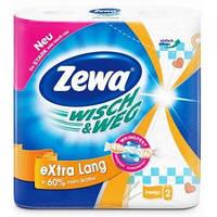 Кухонные полотенца Zewa Wisch & Weg Design 2 слоя, 2 рулона 86 листов