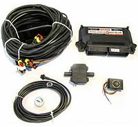 Замена газового блока управления с проводкой, переподключение ГБО