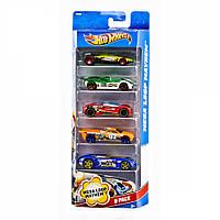 Машинки Hot Wheels Подарочный набор автомобилей 5 штук