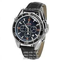 Мужские наручные часы Omega Seamaster Planet Ocean Master Chronograph All Black
