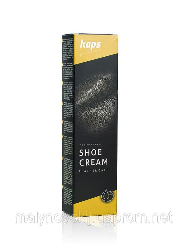 Крем для обуви(пчелиный воск) KAPS SHOE CREAM   75ml, фото 1