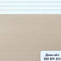 Рулонные шторы День Ночь Ткань Сахара ВН DN 201 Какао