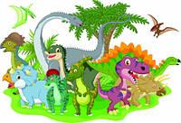 """Детские Фотообои """"Динозавры"""" , фото 1"""