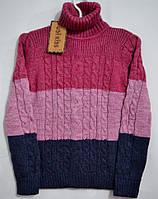Шерстяной свитер под горло для девочек Udi kids