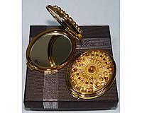 Зеркальце двухстороннее в подарочной упаковке. Подарок для девушки Австрия №6960-T70G-11