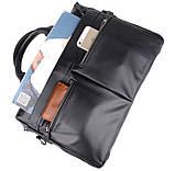 Деловая сумка на плечо 7122A-1, фото 7