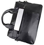 Деловая сумка на плечо 7122A-1, фото 8